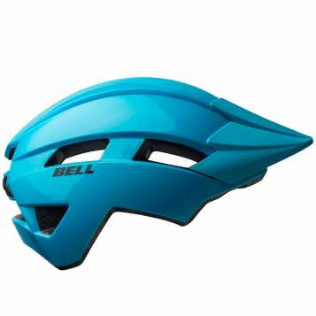 Bell Sidetrack II T Kinder Velohelm gloss light blue