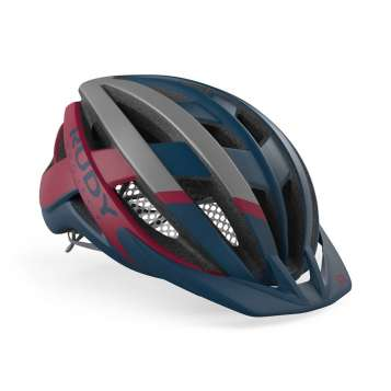 RudyProject Venger Cross Helm blau-merlot matt