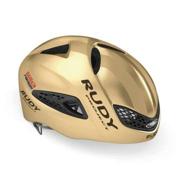 RudyProject Boost 01 Helm ohne Visier gold shiny