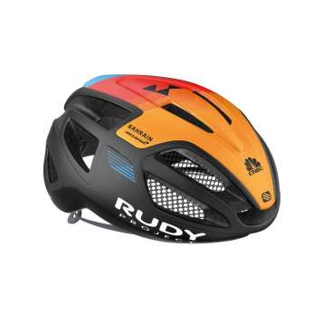 Rudy Project Spectrum Helm  orange-schwarz-blau-rot