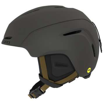 Giro Neo MIPS Skihelm - Metallic Coal/Tan