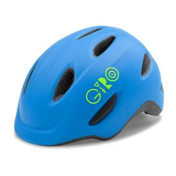 Giro Scamp Velohelm matte blue/lime