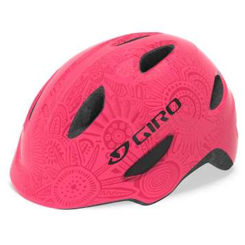 Giro Velohelm Kinder Scamp bright pink/pearl