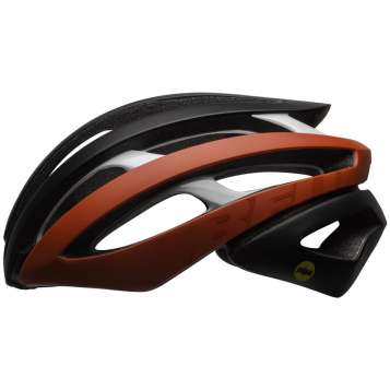 Bell Zephyr MIPS Velohelm matte/gloss red/black/white