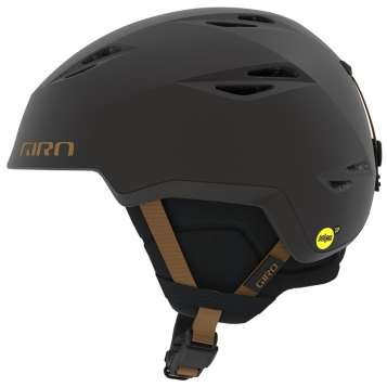 Giro Grid MIPS Skihelm - Metallic Coal/Tan
