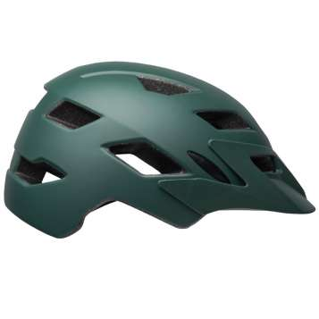 Bell Velohelm Kinder Sidetrack Child matte dark green/orange
