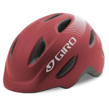 Giro Scamp Velohelm matte dark red