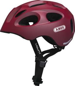 ABUS Youn-I Velohelm - Cherry Red
