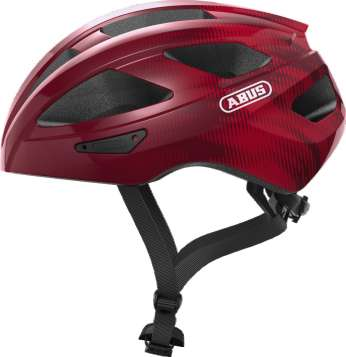 ABUS Macator Velohelm - Bordeaux Red