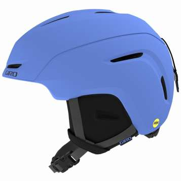 Giro Neo Jr. MIPS Kinder Skihelm matte shock blue