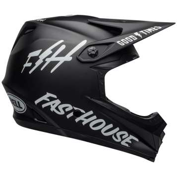 Bell Full 9 Fusion MIPS Downhill Helm matte black/white fasthouse