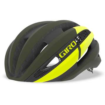 Giro Synthe Mips Velohelm matte olive/citron