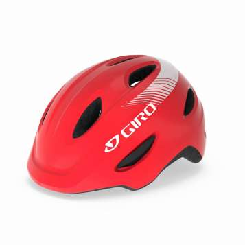 Giro Scamp Helm matte bright red