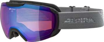 Alpina PHEOS QHM Skibrille - Black-Grey Blue Sph.
