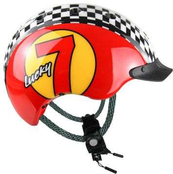 Casco Mini 2 Velohelm - Lucky 7 rot