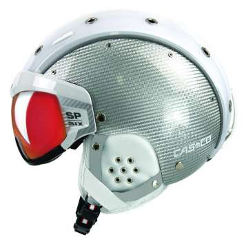Casco Skihelm SP-6 Visier Limited - Composite Weiss