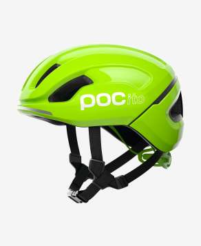 POC Velohelm POCito Omne SPIN - Fluorescent Yellow/Green