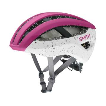 Smith Velohelm Network MIPS - Matte Berry, Vapor