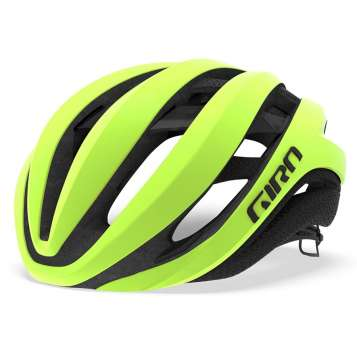 Giro Aether MIPS Velohelm highlight yellow/black