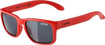 Alpina MITZO Sportbrille - red black