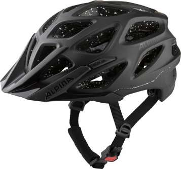 Alpina Mythos Tocsen Velohelm - Black Matt
