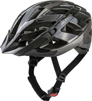 Alpina Panoma 2.0 Velohelm - black-anthracite