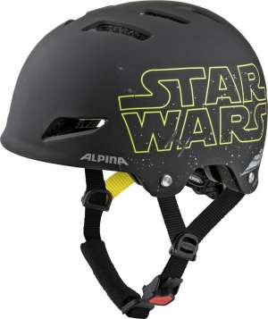 Alpina Park Jr. Velohelm - Star Wars black