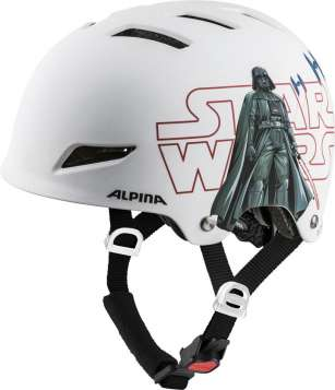 Alpina Park Jr. Velohelm - Star Wars white