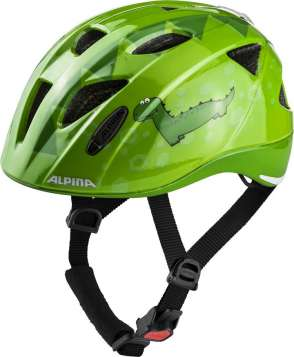 Alpina XIMO Flash Velohelm - green dino