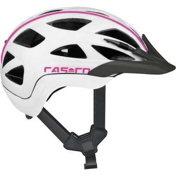 Casco Activ 2 Junior Velohelm - weiss-pink
