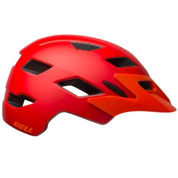 Bell Sidetrack Youth MIPS Velohelm matte red/orange