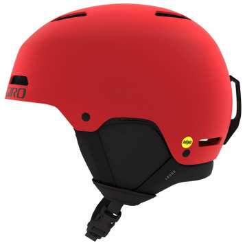 Giro Ledge FS MIPS Skihelm - Matte Bright Red
