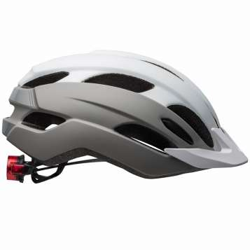 Bell Trace LED MIPS Velohelm matte white/silver