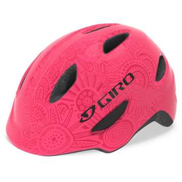 Giro Velohelm Kinder Scamp MIPS bright pink/pearl