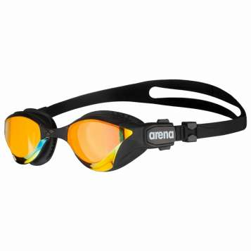 Arena Schwimmbrille Cobra Tri Swipe Mr yellow copper/black