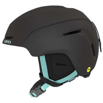 Giro Avera MIPS Frauen Skihelm - Metallic Coal/Cool Breeze