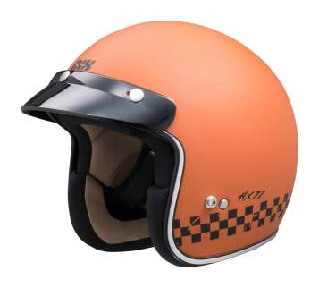 iXS 77 2.0 Jethelm - orange matt-schwarz