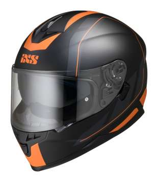iXS HX 1100 2.0 Integralhelm - schwarz matt-orange