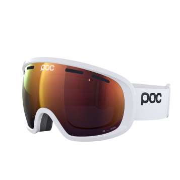 Poc Fovea Clarity - Hydrogen White / Spectris Orange