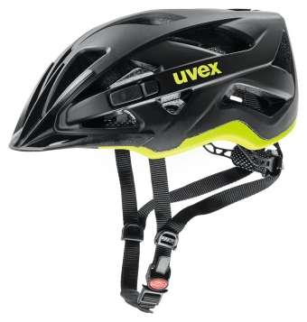 Uvex Active CC Velohelm - bl.-yellow mat