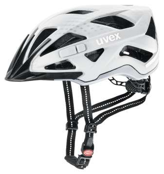 Uvex City Active Velohelm - white mat