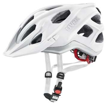 Uvex City Light Velohelm - white mat