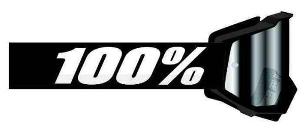 Image of 100% Accuri 2 FORECAST Goggle Black
