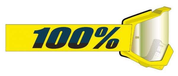 Image of 100% Accuri 2 FORECAST Goggle Yellow