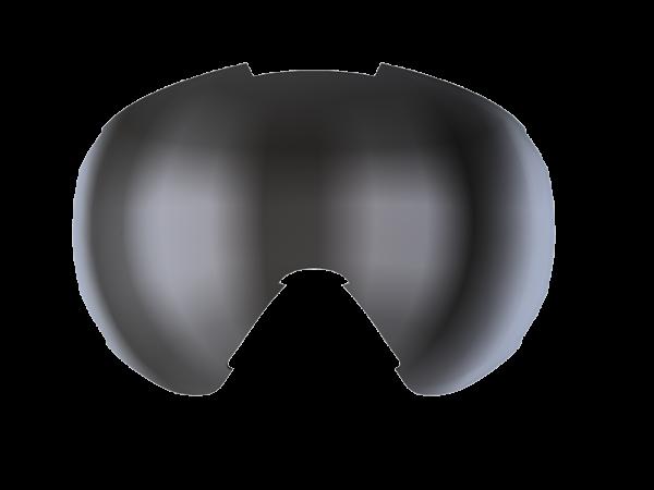 Image of Bliz Ersatzglas für Carver Small Face Skibrille - Orange w Silver Mirror