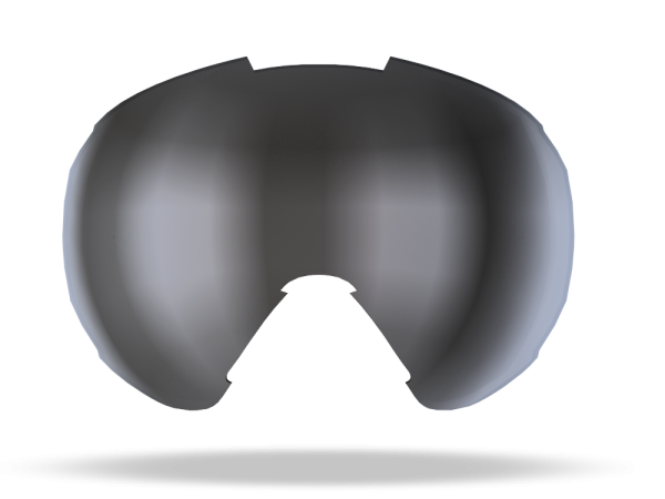 Image of Bliz Ersatzglas für Carver Skibrille Double - Orange w Silver Mirror