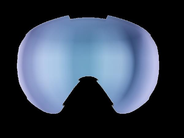 Image of Bliz Ersatzglas für Carver Skibrille Single - Brown w Blue Multi