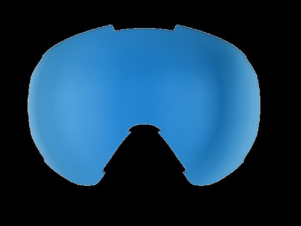 Image of Bliz Ersatzglas für Carver Skibrille Single - Blau