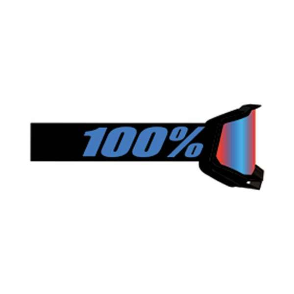 Image of 100% Accuri 2 Youth Goggle Moore - Mirr Red/Blue