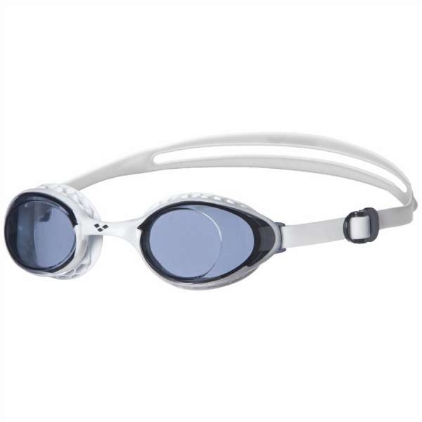 Image of Arena Airsoft Schwimmbrille smoked/white one size